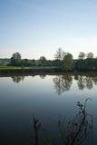 lugna flod 4 royaltyfri foto