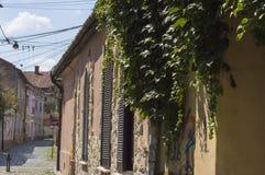 Lugna gataplats arkivfoto