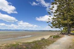 Lugna hav av Abel Tasman National Park, södra ö, nya Ze Arkivfoton