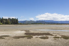 Lugna hav av Abel Tasman National Park, södra ö, nya Ze Fotografering för Bildbyråer