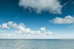 Lugna hav på Nordsjönkusten, Tyskland Royaltyfri Foto
