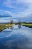Lugna kanal Royaltyfri Foto