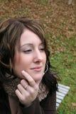 lugna kvinna fotografering för bildbyråer