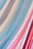 Lugna linjer av texturerade färger Arkivfoton