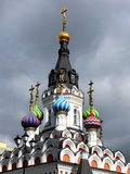 Lugna min Scorows kyrka Royaltyfri Bild