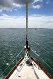 lugna segling Arkivfoton
