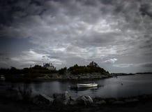lugna storm Arkivfoton