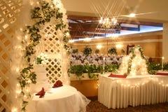 lugnat bröllop Royaltyfria Bilder