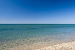 Lugnat hav Fotografering för Bildbyråer