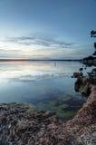 Lugnt vattenSt Georges Basin Arkivbilder