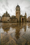 Lugo Cathedral Square Royalty Free Stock Images