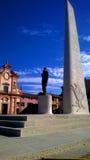 Lugo Francesco Baracca monument arkivbild
