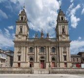 Lugo, Galicië, Spanje stock fotografie