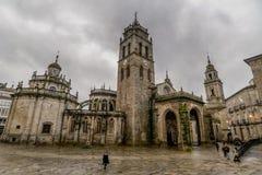 Lugo Kathedraal - Lugo - Spanje Royalty-vrije Stock Fotografie