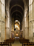 Lugo romanesque cathedral. In Galicia Royalty Free Stock Photography