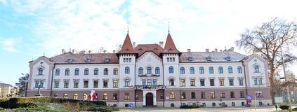 Lugoj City Hall editorial Stock Photo