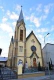 Lugoj Protestant Church Stock Image
