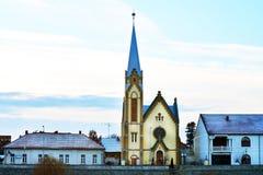 Lugoj Protestant Church Royalty Free Stock Photo