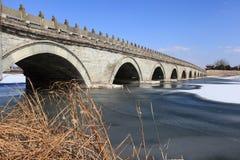 Lugou Bridge Stock Photo
