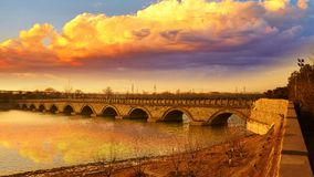 The Lugou Bridge, Beijing, China Royalty Free Stock Photos