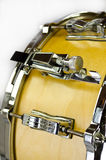 Lugs of plywood snare drum. Isolated on white background Stock Photo