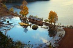 lugu озера фарфора Стоковое Фото