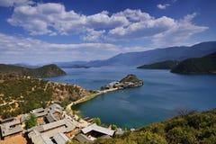 Lugu湖 免版税图库摄影