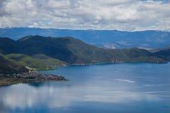 Lugu湖 库存图片