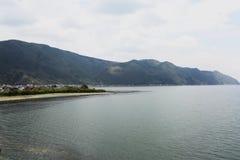 Lugu Jeziora sceneria Zdjęcie Royalty Free