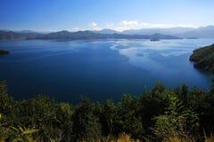 Lugu jezioro Obraz Stock