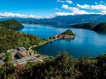 Lugu jezioro Zdjęcie Royalty Free