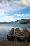 Lugu Lake Stock Photography