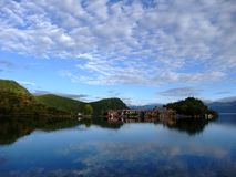 Lugu Lake Stock Photography