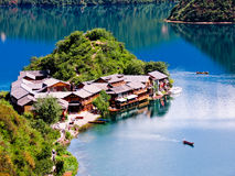 Free Lugu Lake Stock Photos - 26384973