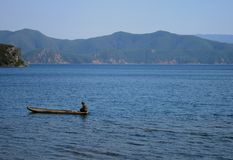 Lugu lake Royalty Free Stock Image