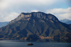 Lugu lake China Royalty Free Stock Image