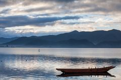 Lugu lake scenery Royalty Free Stock Images