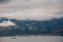 Lugu lake scenery Stock Image