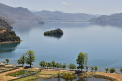 Lugu lake stock image