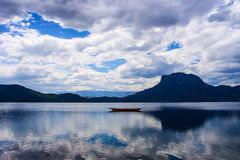 The lugu lake Royalty Free Stock Photography
