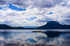 The lugu lake royalty free stock photography