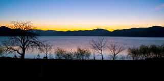 Lugu Lake(Luguhu) Royalty Free Stock Image