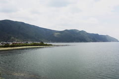 Lugu lake scenery Royalty Free Stock Photo