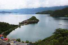 Lugu lake scenery Royalty Free Stock Image
