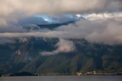 Lugu lake scenery Stock Photo