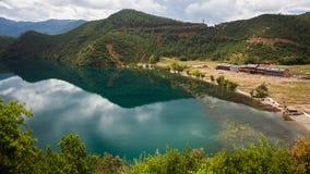 Lugu lake scenery Stock Images