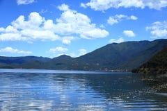 Lugu lake scenic , China Royalty Free Stock Photo