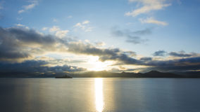Lugu Lake Sunrise Royalty Free Stock Images