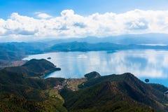 Lugu Lake view Royalty Free Stock Photo