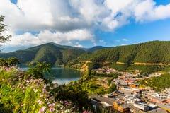 Lugu Lake view Stock Images